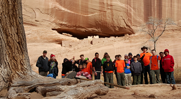 Troop 39 Canyon De Chelley National Monument